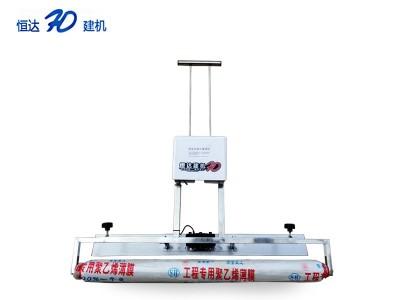 锂电池去脚印覆膜机 自带振平覆膜机